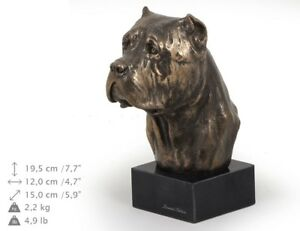 Cane Corso - figurka z wizerunkiem psa na marmurowej podstawa Art Dog