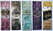 5 Sample Packets DESIGNER SKIN Black Dahlia Astonish Cherish Worship Command