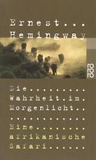 Die Wahrheit im Morgenlicht von Ernest Hemingway (2001, Taschenbuch)