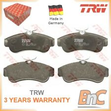 FRONT DISC BRAKE PAD SET FOR NISSAN TRW OEM 410604M525 GDB3271 HEAVY DUTY