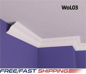 11X11cm XPS Polystyrene Lightweight Coving Cornice Finest Quality NextdayDeliver
