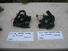 1977,1978,1979,1980 CADILLAC HEATER CONTROL,A/C PROGRAMMER,CLIMATE PROGRAMMER