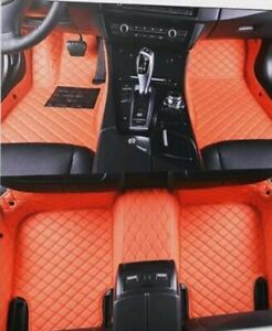 BMW E60 5 Series fitted leather look car mats.