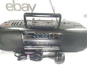 Panasonic RX-FS420 Boombox Cassette Tape AM FM Radio Portable Player Recorder