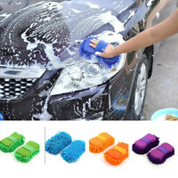 New Microfiber Chenille Car Vehicle Care Washing Brush Sponge Pad Cleaning Tool