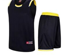 High Quality Jersey Set For Men Basketball Sports Use Comfy Matching Uniform New