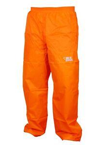 CRUST  Mens & Womens Waterproof  Windproof Over Trousers Rain Pants