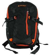 Hi-tec Backpack Ruck Camelbak Hiking Mountain 20 Walking Multi Pocket Bag Black