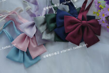 Girls Cute Japanese School Girls JK Uniform Bow Tie Handmade Lolita Necktie