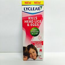 LYCLEAR HEAD LICE & EGGS TREATMENT LOTION + METALLIC COMB - 100ML