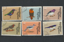 BIRDS Togo Set of 6 colorful stamps