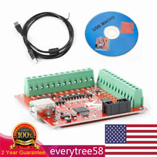 4 Axis Usb Interface Board Cnc Mach3 Motion Controller Card For Stepper Motor