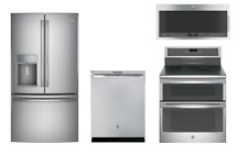 Ge Profile Stainless Kitchen Package Refrigerator, & Range -$400 Rebate!