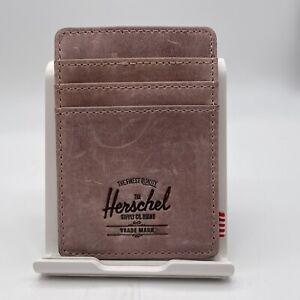 Herschel Raven Pink Leather Wallet