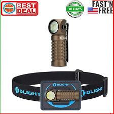 OLIGHT Perun Mini 1000 Lumen Rechargeable Headheld Flashlight With Headband