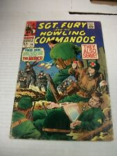 Marvel SGT. FURY AND HIS HOWLING COMMANDOS #46 September 1967