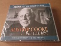 Alistair Cooke at the BBC (BBC Radio Collection) (Audio Book CD) NEW AND SEALED
