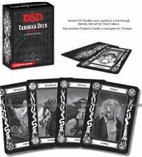 D&D Dungeons & Dragons Dungeon Tarokka Deck Curse of Strahd GDR INGLESE