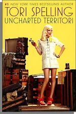 Tori Spelling - Uncharted Territori (2010) - Autographed Hardcover Book!