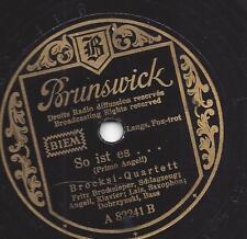 Primo Angeli + Fritz Brocksieper 1942 : So ist es