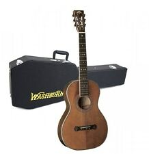 Washburn R314K Parlour Style Acoustic Guitar Aged Finish With Case