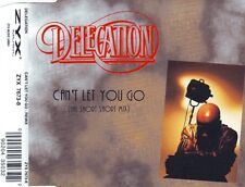 DELEGATION Can't Let You Go (Rmx) 3x + Wanna Be The Winner 2x CD Single 1995 ZYX