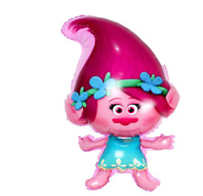Foil Balloon Poppy Trolls Poppy Balloon Party Supplies Decoration Birthday 31''