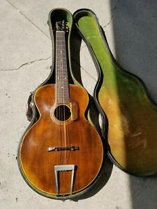 Beautiful Gibson L-1 Antique Acoustic Archtop Guitar #59332 With original case