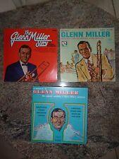 Lot d'1 coffret et 2 vinyles 33 T LP de GLENN MILLER Glenn Miller story BON ETAT
