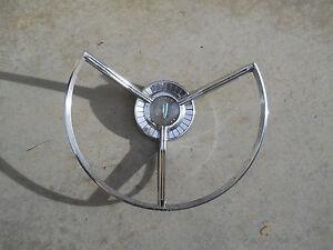 '59 Edsel Power Steering Wheel Horn Ring
