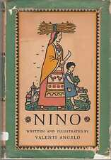 Nino by Valenti Angelo - Signed First Edition - Newbery Honor Title 1939