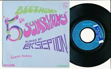 "EKSEPTION 45 TOURS 7"" FRANCE BEETHOVEN 5TH SYMPHONY"