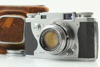 【 Exc +++ 】 Konica IIA Rangefinder Film Camera w/ Hexanon f2 48mm Lens Japan #99