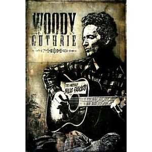 COUNTRY & WESTERN= WOODY GUTHRIE  THIS MACHINE KILLS FASCISTS = VGC CERT PG