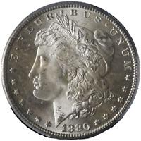 1880-S Morgan Silver Dollar PCGS MS66 Blazing White Gem Nice Strike STOCK