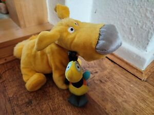 Disney Up Dug soft plush figure toy Kevin bird dangler keychain Pixar bundle