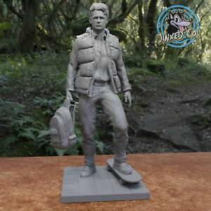 Marty McFly Back To The Future Doc Custom 1/8 Scale Resin Model Kit DIY Paint