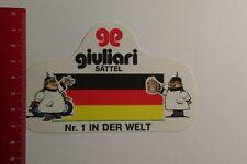 Aufkleber/Sticker: giuliari Sättel Nr 1 in der Welt (09031763)