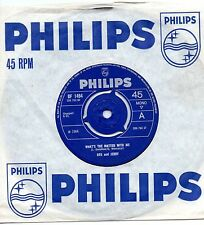 DEK AND JERRY what's the matter with me*don't waste your time 1966 UK PHILIPS 45