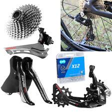 Front+Rear Derailleur 2x12-speed Shift Lever kit For SENSAH EMPIRE Road Bike MTB