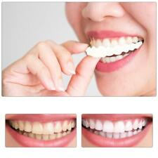 1pair Silicone Fake Teeth False Tooth Cover Whitening Denture Oral Care