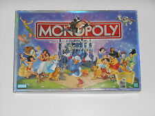 MONOPOLY The DISNEY Edition 2001 Parker Brothers Classic Board Game Mickey Mouse