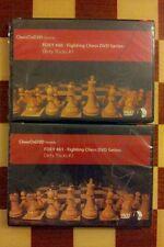 CHESS DVD FOXY OPENINGS # 60 & # 61 - DIRTY TRICKS 1,2 GRAND MASTER NIGEL DAVIES