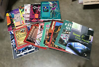 QUILTING & APPLIQUE Lot of 16 Books: Large, Illustrated - Patterns & Directions