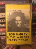 Bob Marley And The Wailers Natty Dread Cassette Jamaican Press VERY RARE reggae