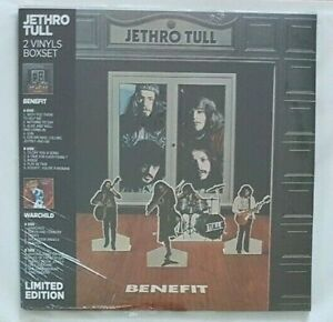 JETHRO TULL ♦ NEW FRENCH LIMITED 2 x LP BOXSET ♦ BENEFIT // WARCHILD