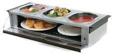 Hostess Steel Buffet Server-Silver