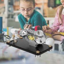 Stirlingmotor Heißluft Engine Modell Stirling Maschine Modellbau Bausatz Kit Neu