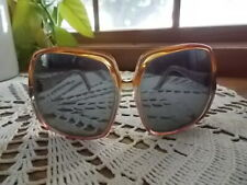 Cool! Vintage Large Mod Twiggy 1970's Tortoise Butterfly Sunglasses Mauritus