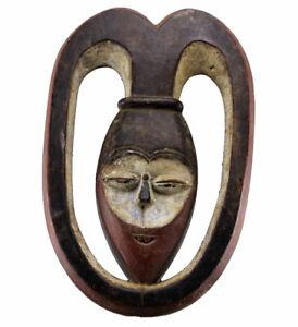 Masque Kwele  38 Cm: African Tribal Mask - Kunst - Art africain - Arte africano